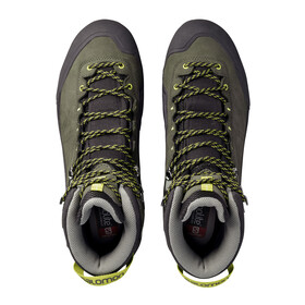 Salomon M's X Alp MTN GTX Shoes Black/Beluga/Lime Punch